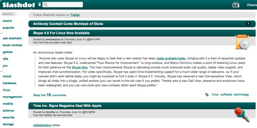 Slashdot: News for nerds, stuff that matters