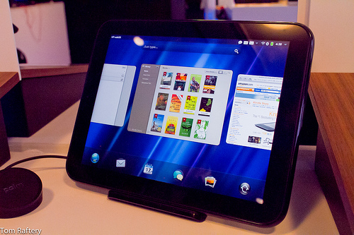 HP WebOS TouchPad